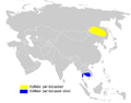 Acrocephalus tangorum distribution map.png