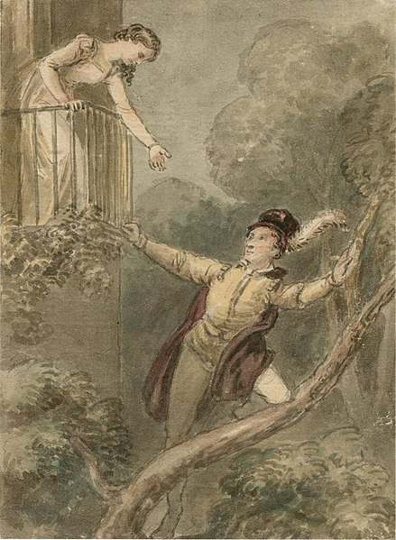 File:Act II Scene ii – Juliet on the Balcony.jpg