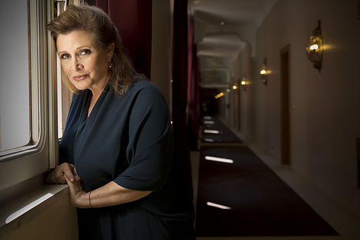 Actress Carrie Fisher © Riccardo Ghilardi photographer