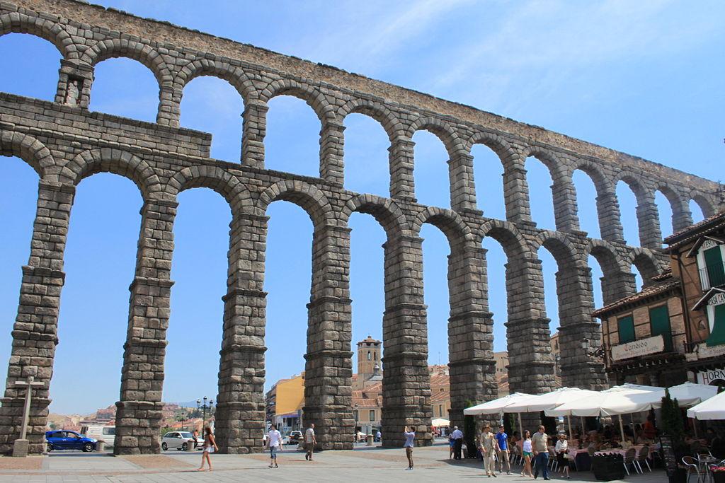 Amigos para siempre arquitectura de la antigua roma - Acueducto de segovia arquitectura ...