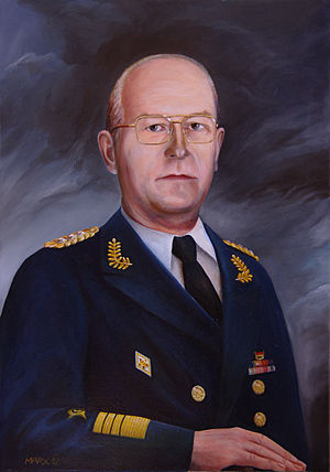 Ministry of National Defence (East Germany) - Admiral Theodor Hoffmann, fourth Minister of Defence