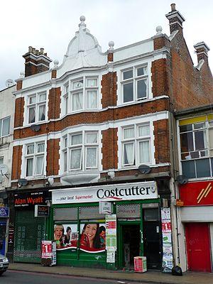Costcutter - Costcutter store in Deptford, London.