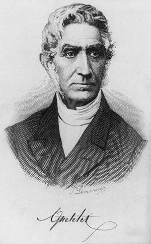 Adolphe Quetelet - Image: Adolphe Quételet by Joseph Arnold Demannez
