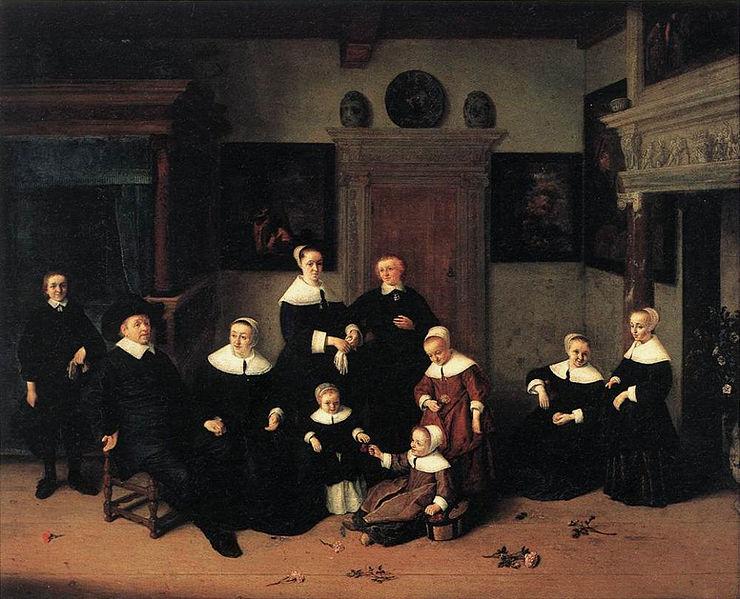 Fichier:Adriaen Van Ostade - Portrait de famille.jpg