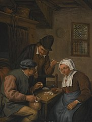 Card-playing Peasants