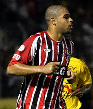 Adriano (footballer, born 1982) - Adriano at São Paulo in March 2008