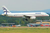SX-DVY - A320 - Olympic Air