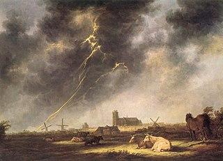 Thunderstorm over Dordrecht