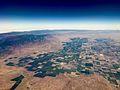 Aerial photograph of Kern County farmland (35035715562).jpg