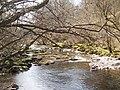 Afon Mellte upstream of the Sgwd Clun-gwyn waterfall - geograph.org.uk - 406070.jpg