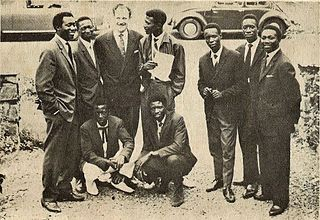 """Le Grand Kallé et lAfrican Jazz Congolese band often referred to as """"African Jazz"""""""