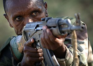 Soldier of Ethiopian National Defense Force, 2006.