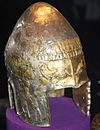 Silver helmet from the Agighiol hoard