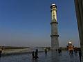 Agra Taj Mahal Pillar.JPG