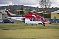 AgustaWestland AW139 (VH-SYZ) operated by Lloyd Off-Shore Helicopters for Ambulance Service of New South Wales as Rescue 24 at the Duke of Kent Oval Helipad (5).jpg