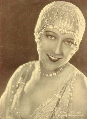 Aileen Pringle - A picture of Aileen Pringle taken for Argentinean Magazine in 1928