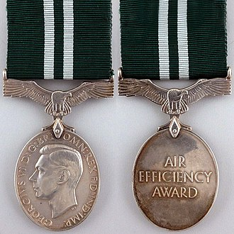 Air Efficiency Award - First King George VI version