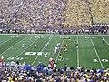 Air Force vs. Michigan football 2012 2 (Michigan on offense).jpg