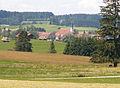 Aitrang - Elbsee nördl - Aitrang v SO, Sommer.JPG