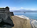 Ajaccio Citadelle et plage Saint-François.jpg