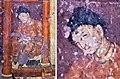 Ajanta Cave 1 Mahajanaka Jataka painting with foreigner detail and portrait.jpg