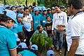 Ajoy Kumar Ray Plants Mahogany - Inaugural Session - Summer Camp - Nisana Foundation - Sibpur BE College Model High School - Howrah 2013-06-07 8718.JPG