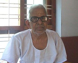 Akkitham Achuthan Namboothiri - Image: Akkitham achuthan