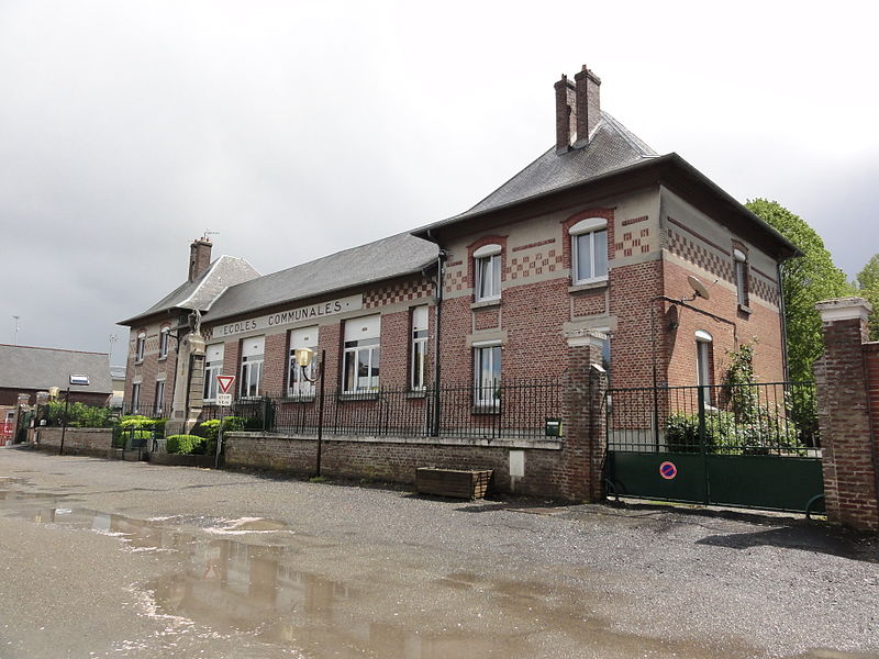 Alaincourt (Aisne) école