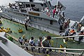 Albanian students tour Albanian Naval Force vessel Butrinti - 26 September 2015 - 150926-N-AX546-120.jpg