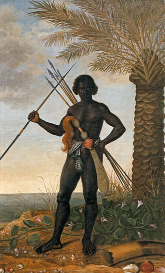 Ganga Zumba - Dutchman Albert Eckhout's Painting of an Afro-Brazilian Warrior From the same time of Ganga Zumba