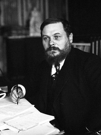 Albert Métin - Albert Métin in 1913