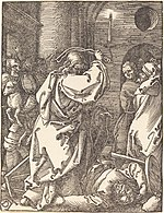 Albrecht Dürer, Christ Expelling the Moneylenders from the Temple, probably c. 1509-1510, NGA 6757.jpg