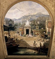 Allegory of History, Industry and Commerce of Malaga