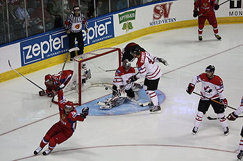 Alexander Semin first goal in final 2008 IIHF World Championship.JPG