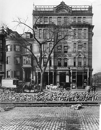 South End, Boston - Alexandra Hotel in 1899