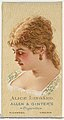 Alice Lingard, from World's Beauties, Series 2 (N27) for Allen & Ginter Cigarettes MET DP838147.jpg