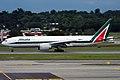 Alitalia, EI-ISB, Boeing 777-243 ER (15836735963).jpg