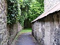 Alley leading to The Burn - geograph.org.uk - 887175.jpg