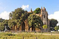 Allumiere -Chiesa del borgo della Farnesiana 2014 by-RaBoe 012.jpg