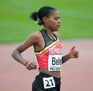 Almensh Belete Belgian distance runner