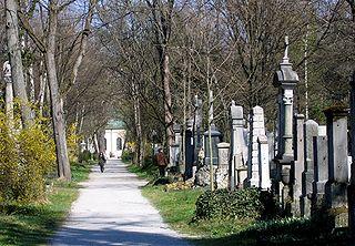 Alter Südfriedhof cemetery in Munich, Germany