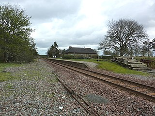 Altnabreac railway station scottish railway station