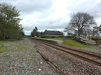 Altnabreac railway station - Altnabreac railway station