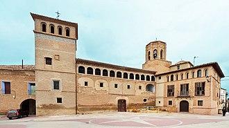 Ambel, Zaragoza - Image: Ambel Palacio de los Hospitalarios