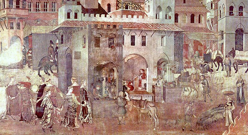 File:Ambrogio Lorenzetti Allegory of Good Govt right.jpg