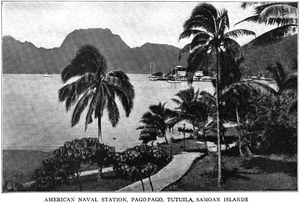 United States Naval Station Tutuila - Naval Base Tutuila, c.1920