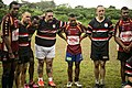 Americans and Fijians play rugby during Pacific Partnership 2015 150609-N-TQ272-919.jpg