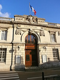 Prefecture building of the Somme department, in Amiens
