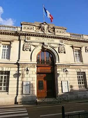 Somme (department) - Prefecture building of the Somme department, in Amiens