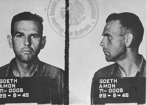 Amon Göth - Göth's 1945 mugshot